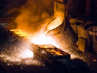 Неспешное излитие металла